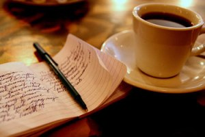 coffee-and-writing